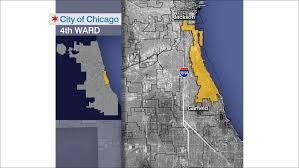 Chicago Political Map by 4th Ward Aldermanic Candidates Square Off Ahead Of Special