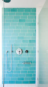 glass tile for bathrooms ideas bathroom gorgeous color for the aqua glass subway tile