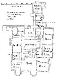 Halliwell Manor Floor Plans by Chorley British History Online