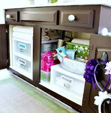 Organizing Bathroom Drawers Organized Master Bathroom Cabinet Hi Sugarplum