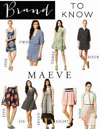maeve clothing brand to maeve the fashionable