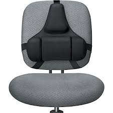 fellowes professional series back support cushion black 8037601