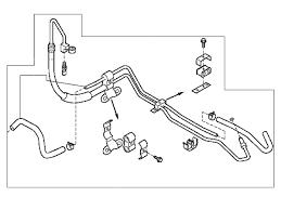 nissan 350z oil pressure oem power steering pressure hose set 350z z1 motorsports