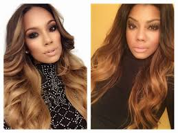what color is cyn santana new hair color celeb inspired hair erica mena youtube