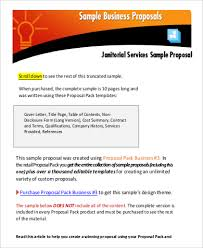 business proposal example 9 samples in word pdf