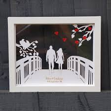 couple walking on the bridge posh wish personalised u0026 unique