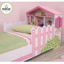 letto casa kidkraft 76255 letto primi passi a forma di casa per bambole pirum