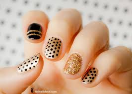 nail art pretty nails design with one stroke beautiful nail art