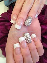 white tips nail art images nail art designs