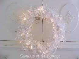 shabby crystal clear shiny sparkles bright beaded chic holiday