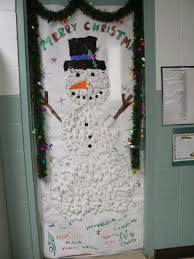 office 41 office christmas door decorating holiday door