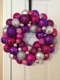 pink wreath ideas