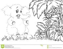 rainforest scene coloring safari animal coloring pages