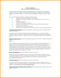 awesome collection of sample formal business report an executive