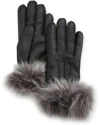ugg sale gloves lyst ugg gloves leather gloves winter gloves mittens lyst