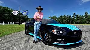 how much is a mustang gt ford works with petty s garage to release three mustang gt king