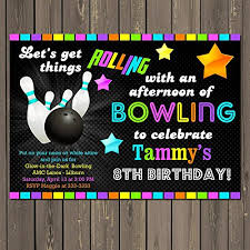 amazon com bowling glow in the dark themed birthday party