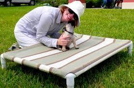 Homemade Dog Beds Diy Elevated Dog Bed Like Kuranda U2013 Pet Project