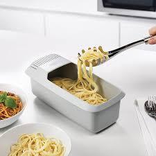 joseph cuisine design microwave pasta cooker m cuisine joseph joseph white on