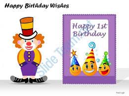 happy birthday wishes powerpoint presentation slides