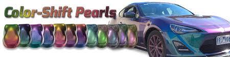 custom paint color color shift pearls dna custom paints