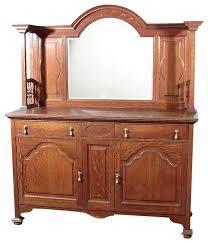 antique oak victorian buffet sideboard server traditional