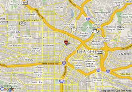 map of downtown los angeles map of hotels in downtown los angeles indiana map