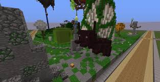 build a giant mushroom in a small plots server wynncraft forums