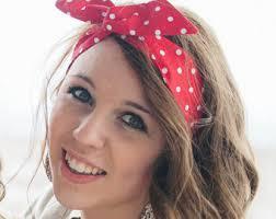 polka dot hair headbands baby headbands and bibs hair bows bun wrap by lorettajos