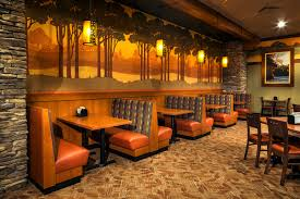 design booth seating ho chunk grill restaurant design