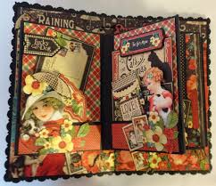 flip photo album annes papercreations how to make a 6 x 4 flip mini album from