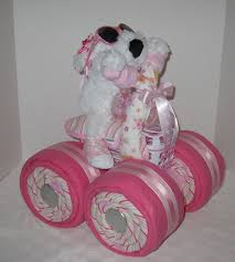 creative baby shower ideas diaper cakes party xyz