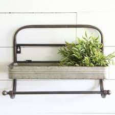 Kitchen Wall Shelving by Kitchen Wall Shelf With Towel Rack Antique Farmhouse
