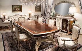 Traditional Italian Furniture Los Angeles Classic Dining Room Tables 10077
