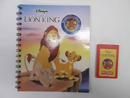 story reader disney lion king book cartridge finer