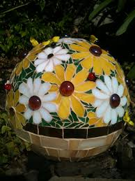 12 Inch Glass Gazing Balls Didn U0027t Used To Like These U0027gazing Balls U0027 In A Garden Now I Want