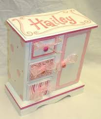 Personalized Jewelry Box For Baby 40 Best Jewelry Box Makeovers Images On Pinterest Jewelry Box