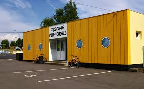 Piscine Container by Piscine Municipale