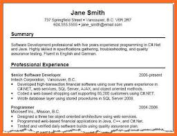 summary resume examples resume summary statement examples entry