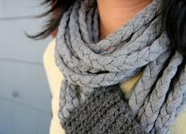 braided scarf crochet and braid t shirt scarf one dog woof
