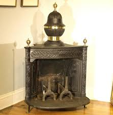 Franklin Fireplace Stove by Antique Cast Iron And Brass Franklin Fireplace Paul Kleinwald