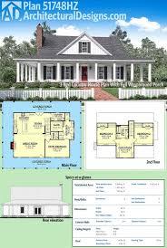 custom farmhouse plans plan 51748hz 3 bed country house plan with wraparound porch