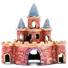 glofish glofish castle ornament aquarium buildings ruins ornaments