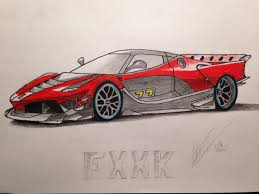 ferrari laferrari sketch search results for fxxk draw to drive