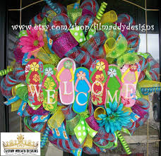 Myhomeideas by Flip Flop Wreath Diy Home Decor On A Budget My Home Ideas