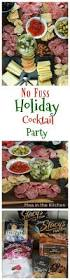no fuss holiday cocktail party party plan tips appetizers
