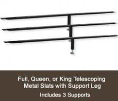 Bed Support Legs Queen Bed Support Slats Foter