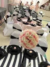chanel baby shower modern chic chanel baby shower flower centerpieces baby shower
