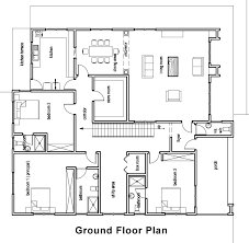 house building plans floor plan simple one floor house plans ranch home and building