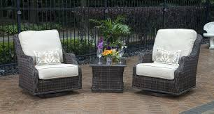 Swivel Patio Chairs Patio Chairs That Rock All Weather Wicker Patio Chairs Outdoor